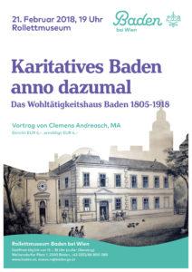 Vortrag Karitatives Baden