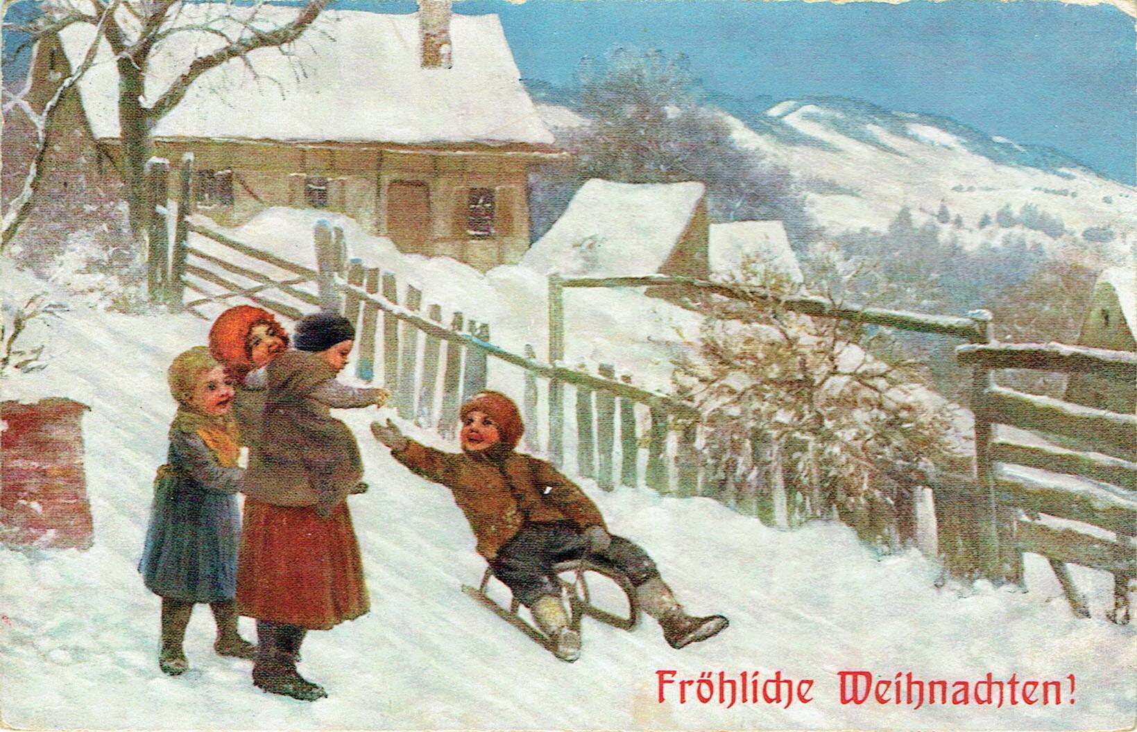 Weihnachten anno dazumal